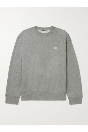 ACNE STUDIOS Forba Logo-Appliquéd Cotton-Jersey Sweatshirt