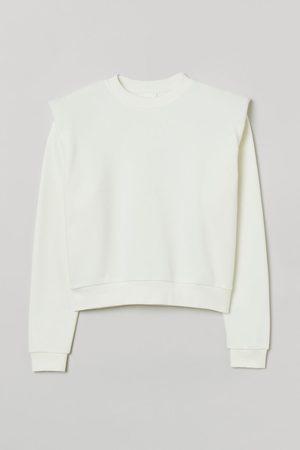 H&M Women Sweatshirts - Shoulder-pad sweatshirt