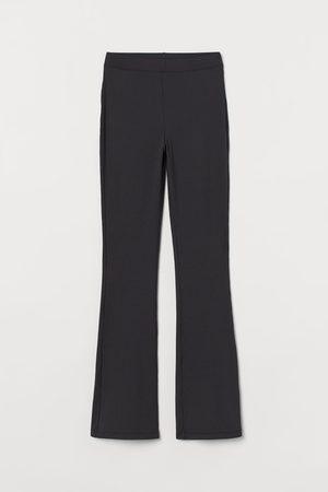 H&M Women Leggings - Ribbed jazz trousers