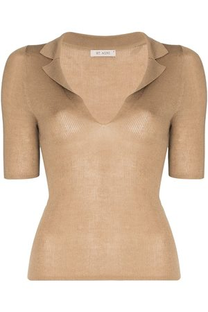 St Agni Women Tops - Remi knitted top