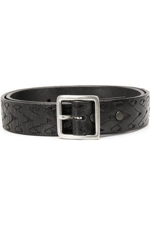 RE/DONE Leather buckle belt