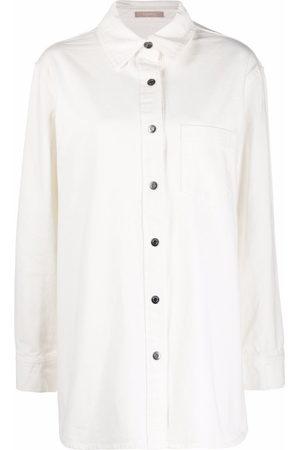 12 STOREEZ Oversized button-up shirt