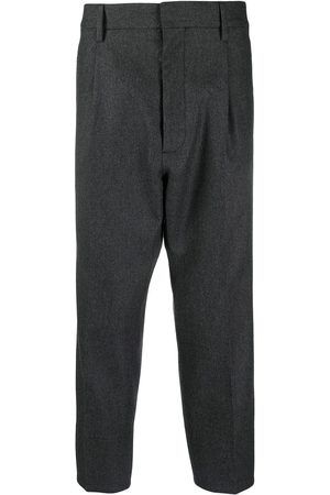 Dsquared2 Men Formal Trousers - Cropped wool-blend trousers