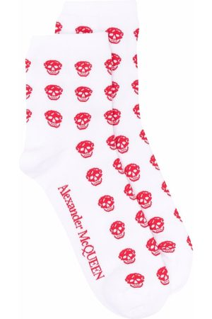 Alexander McQueen Skull jacquard socks