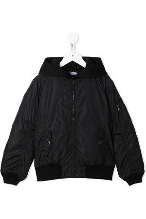 Dolce & Gabbana Hooded bomber jacket