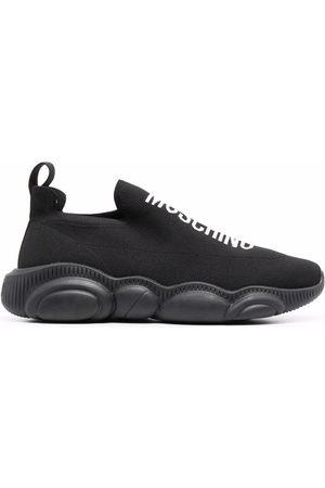 Moschino Men Sneakers - Logo-detail Teddy sneakers