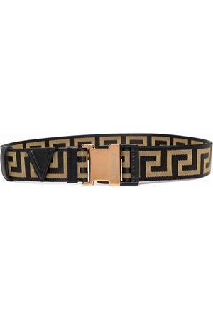 VERSACE Men Belts - Greca ribbon belt