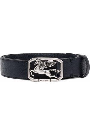Etro Men Belts - Logo-plaque belt