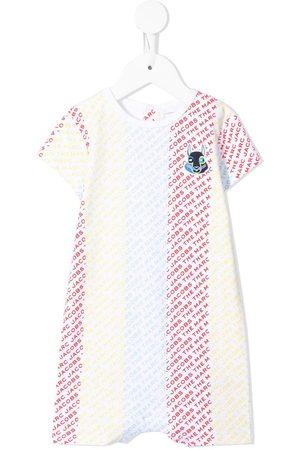 The Marc Jacobs Rompers - Logo-print cotton shorties