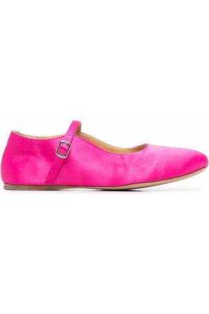 Azi.land Ayla square-toe ballerina shoes