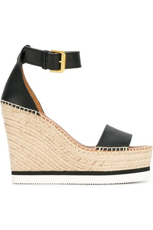 See by Chloé Women Wedge Sandals - Espadrille wedge sandals