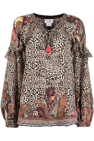 Camilla Wild Child leopard-print blouse