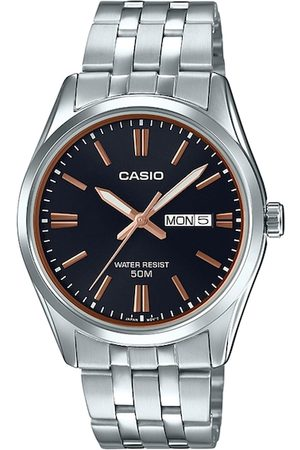 Casio Men Watches - Enticer Men Black Analogue Watch A1515 MTP-1335D-1A2VDF