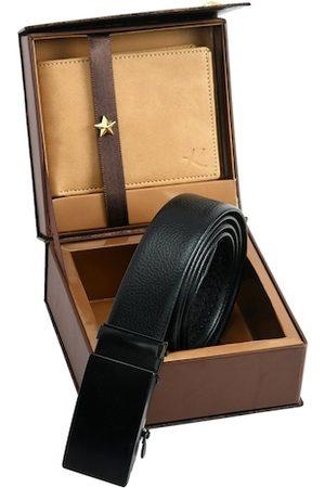 Kastner Men Belt & Wallet Combo