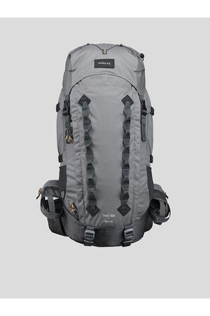 FORCLAZ By Decathlon Men Grey Trekking Backpack with Compression Straps