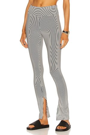 YEAR OF OURS Seersucker 9 To 5 Slit Pant in &