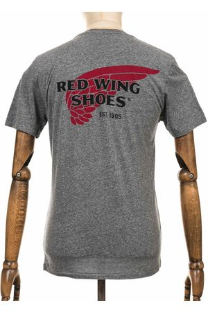 Red Wing 97404 Logo Tee - Grey Heather Colour: Grey Heather