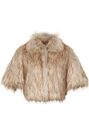 Unreal Fur Women Ponchos & Capes - Nord Cape in Natural