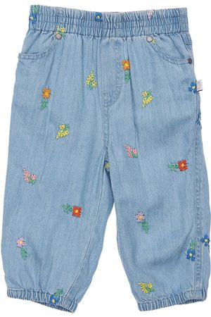 Stella McCartney Embroidered Lyocell Jeans