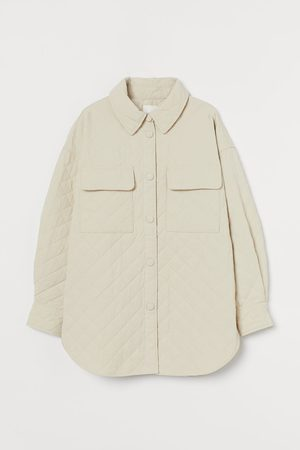 H&M Quilted shirt jacket