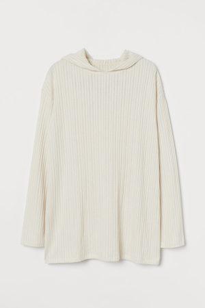 H&M Ribbed hoodie