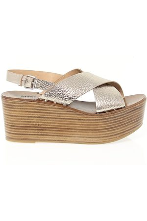 Janet&Janet WOMEN'S 39200 LEATHER WEDGES