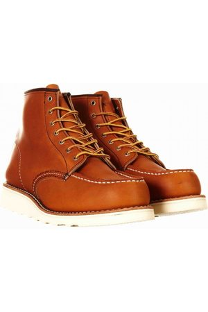 """Red Wing Women's 3375 Heritage 6"""" Moc Toe Boot - Oro Legacy Leather Co"""