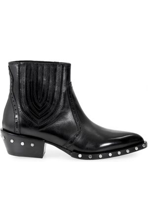 Barracuda Women Ankle Boots - WOMEN'S BD0630 LEATHER ANKLE BOOTS
