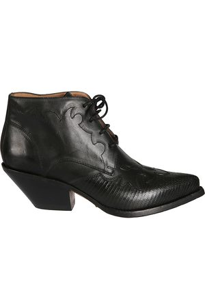 Buttero WOMEN'S B8109VARADC01 LEATHER ANKLE BOOTS
