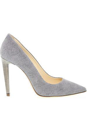 Fabi Women High Heels - WOMEN'S 2336GREY GREY LEATHER PUMPS