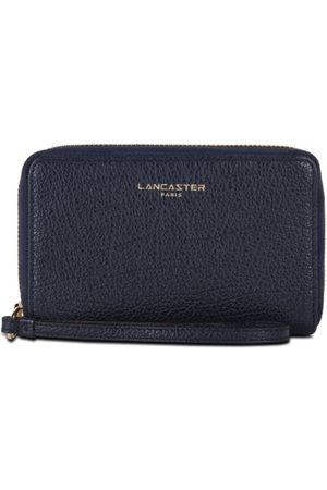 Lancaster Dune Wallet Zip Around small - Bleu Fonce