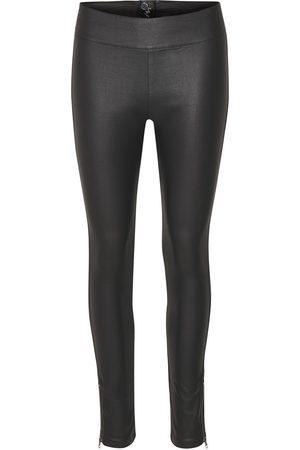 Cream Women Trousers - Belus Katy Fit Trousers Pitch