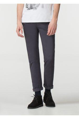 Ben Sherman Men Chinos - Dark Navy Stretch Skinny Chino Trousers