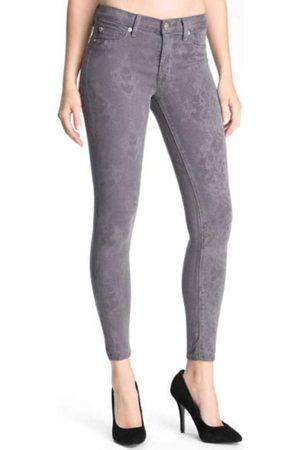 Hudson Women Slim Trousers - Hudson WM407 Nico Skinny Pebble Lace