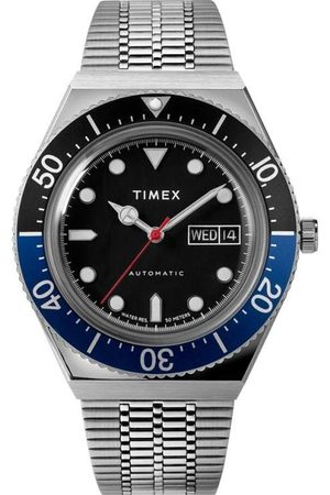 Time X Archive Timex M79 Automatic 40mm Stainless Steel Bracelet Watch - Stainless Steel/