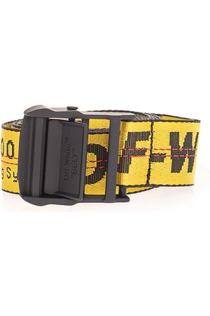 OFF-WHITE MEN'S OMRB012S21FAB0011810 OTHER MATERIALS BELT