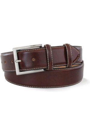 Robert Charles Men Belts - 1140 Dark Leather Belt