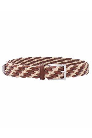 LUCIANO BARBERA Men Belts - Leather Rope Belt