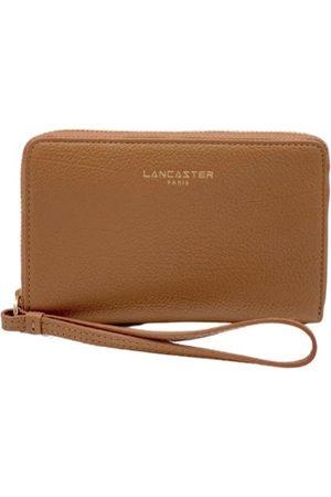 Lancaster Women Wallets - Dune Wallet Zip Around small - Camel