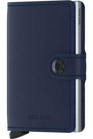 Secrid Original Navy Leather Mini Wallet