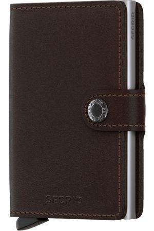 Secrid Men Wallets - Original Dark Leather Mini Wallet