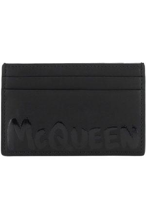 Alexander McQueen MEN'S 6021441AACS1000 LEATHER CARD HOLDER