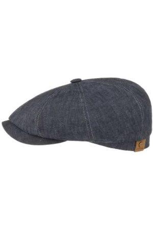 Stetson Hatteras Linen Cap - Denim Grey