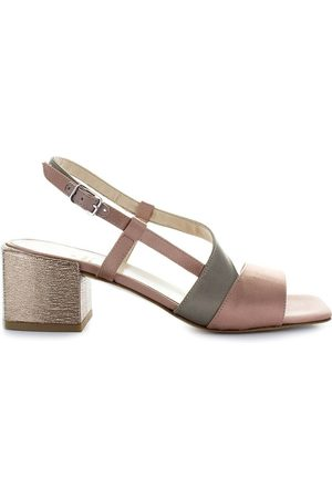 Jeannot Women Platform Sandals - WOMEN'S 58011BTR50BDBDBE911 LEATHER SANDALS