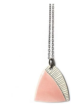 Isla Ibiza Women Necklaces - Clay Ceramic Pendant Necklace - Baby