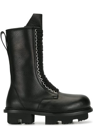 Rick Owens Women Lace-up Boots - Mid-calf lace-up boots