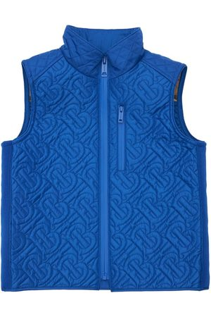 Burberry Logo Nylon Puffer Vest
