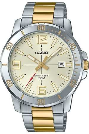 Casio Enticer Men Yellow Analogue Watch A1736 MTP-VD01SG-9BVUDF