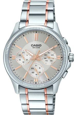 CASIO Enticer Men Silver Analogue watch A1659 MTP-1375HRG-7A2VIF