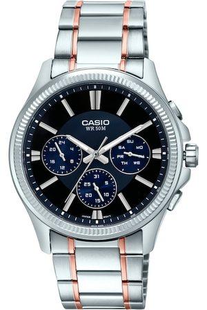 Casio Enticer Men Navy Blue Analogue watch A1658 MTP-1375HRG-1AVIF